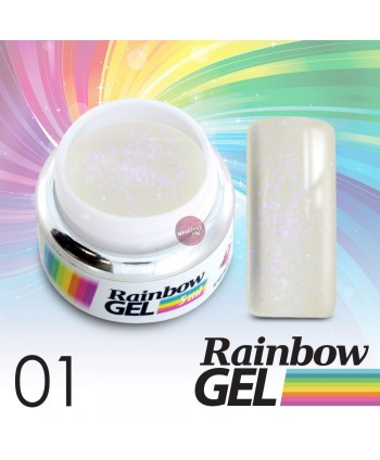 Rainbow UV gel č. 01