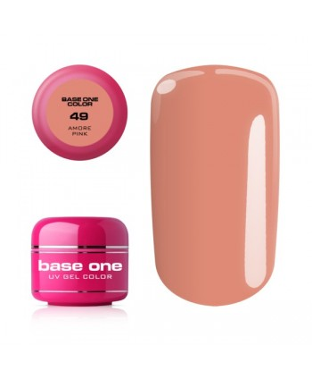 Uv barevný gel Base one -...
