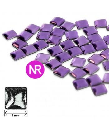 Ozdoby čtverec fialové