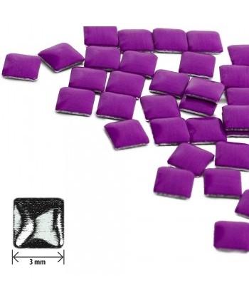 Ozdoby čtverec - neon fialové