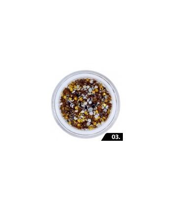 Zirkonové kamínky 1,5mm - 3