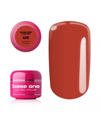 Base one gel - Smoked Coral 5g