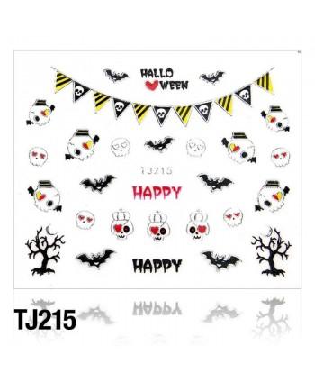 Nálepky na nechty Halloween TJ215