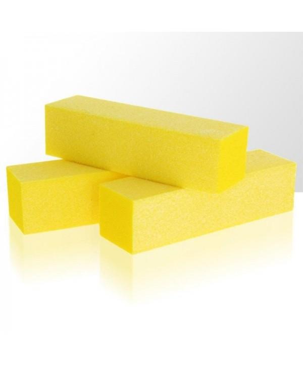 Brúsny blok -  žltý 100/100