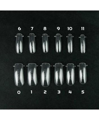 Bluesky Dual formy na nechty číre 120 ks