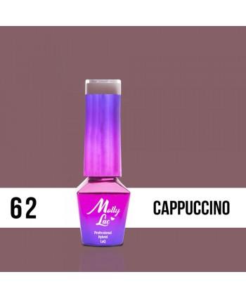 62. MOLLY LAC gél lak - CAPPUCCINO  5ML