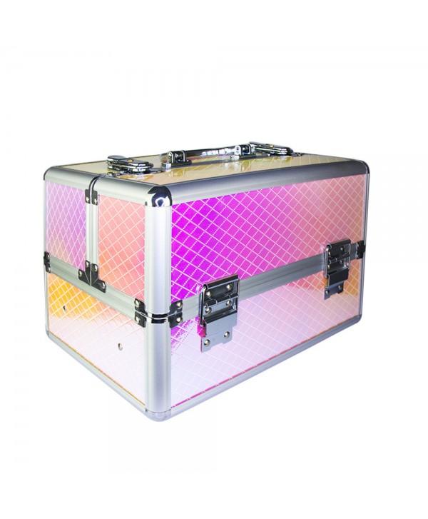 Kosmetický kufřík Unicorn růžový 602-7