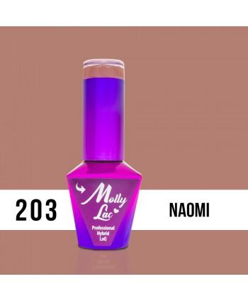 203. MOLLY LAC gél lak - Naomi 5ml