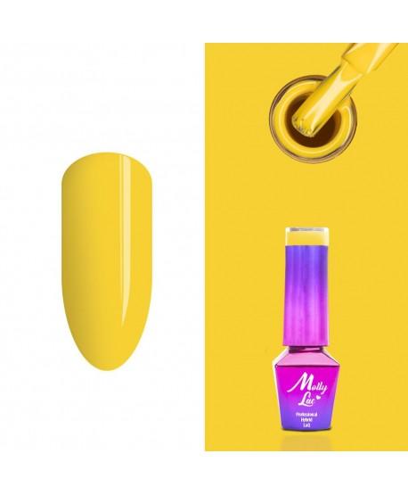 214. MOLLY LAC gel lak - Honey Diva 5ml