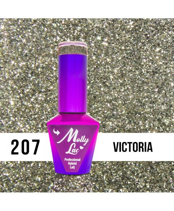 207. MOLLY LAC gél lak - Victoria 5ml