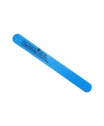 Pilník rovný penový modrý  100/180