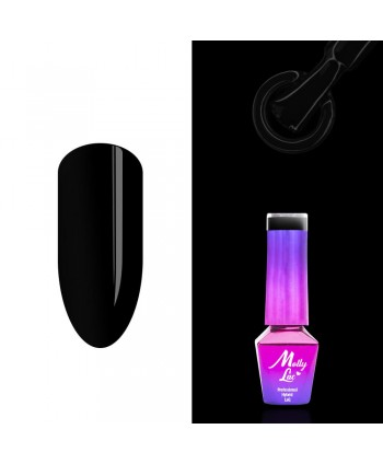 MOLLY LAC gél lak - Ultimate Black 5ML