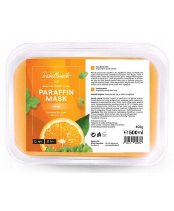 Isabellenails kozmetický  parafín pomaranč 500 ml