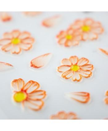 5D nálepka na nechty 05 - kvety