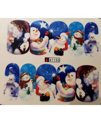 Vianočná vodolepka X-mas A1150