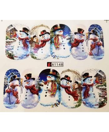 Vianočná vodolepka X-mas A1148