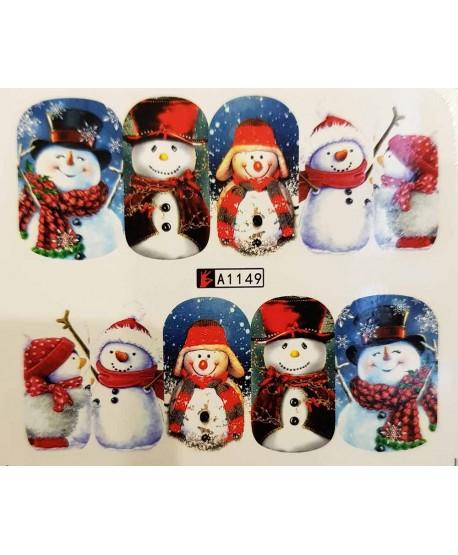 Vánoční Vodolepky X-mas A1149
