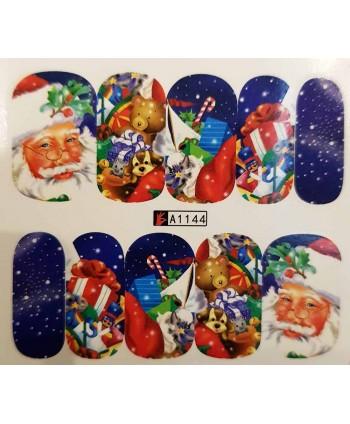 Vianočná vodolepka X-mas A1144