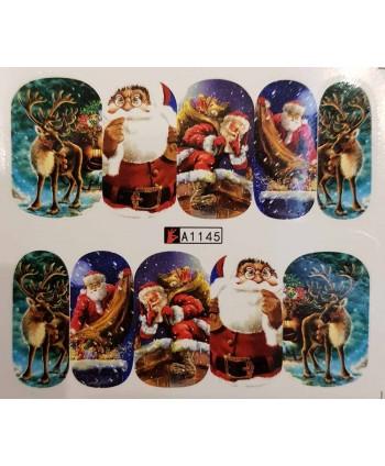 Vianočná vodolepka X-mas A1145