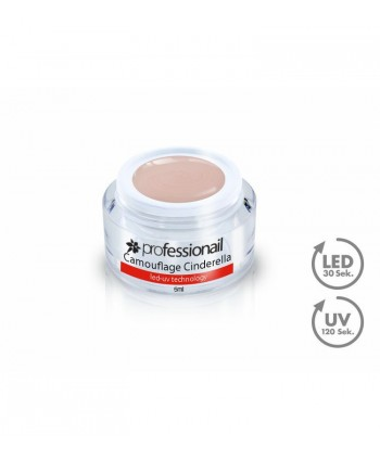 LED-UV GÉL KAMUFLÁŽ CINDERELLA 5ML PROFESSIONAIL™