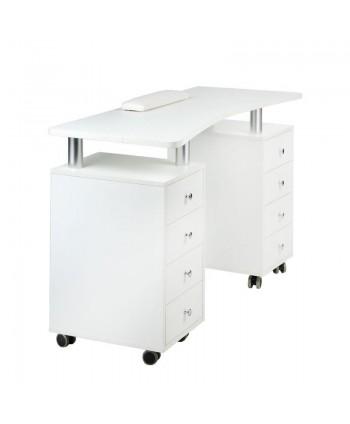 Stôl na manikúru BD-3425 biely