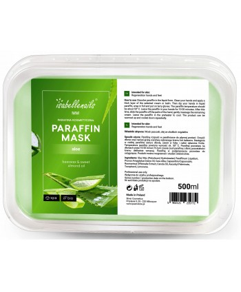 Isabellenails kozmetický  parafín aloe  500 ml