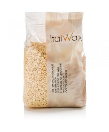 ItalWax filmwax - zrniečka vosku biela čokoláda 500 g