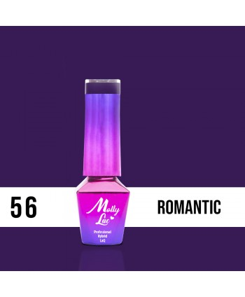 56. MOLLY LAC gél lak - Romantic 5ML