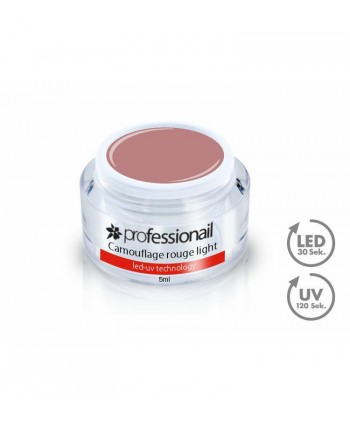 LED-UV GÉL KAMUFLÁŽ ROUGE LIGHT 5ML PROFESSIONAIL™