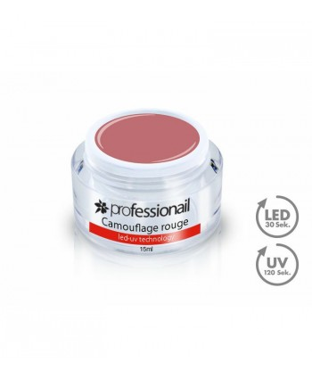 LED-UV GÉL KAMUFLÁŽ ROUGE 15ML PROFESSIONAIL™