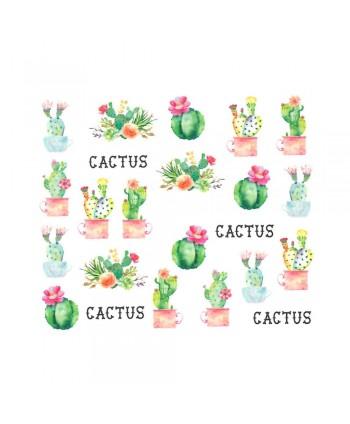 Vodonálepky s motívom Kaktus BN-1271